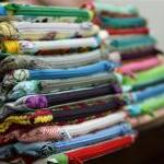 Zipper Pouch - Kimono Girls